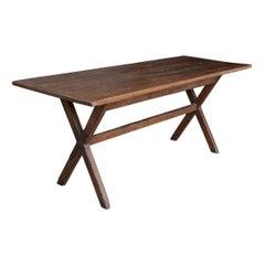 English 18th Century Oak Tavern Table