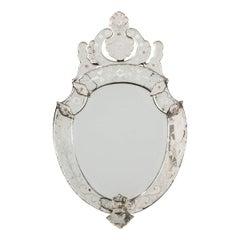 Late 19th Century Venetian Wall Mirror