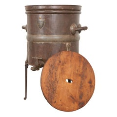 French 19th Century Metal Wine Measuring Vat