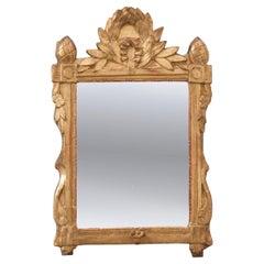 French 19th Century Gold Gilt Louis XVI Mirror