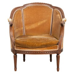 Louis XVI Bergere Chairs