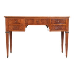 French 19th Century XVI Mahogany Writing Desk