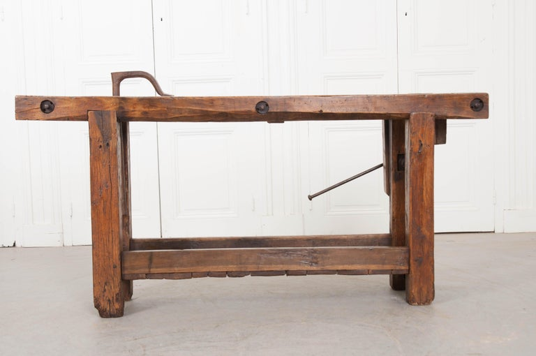 Petite 19th Century French Workbench  For Sale 5