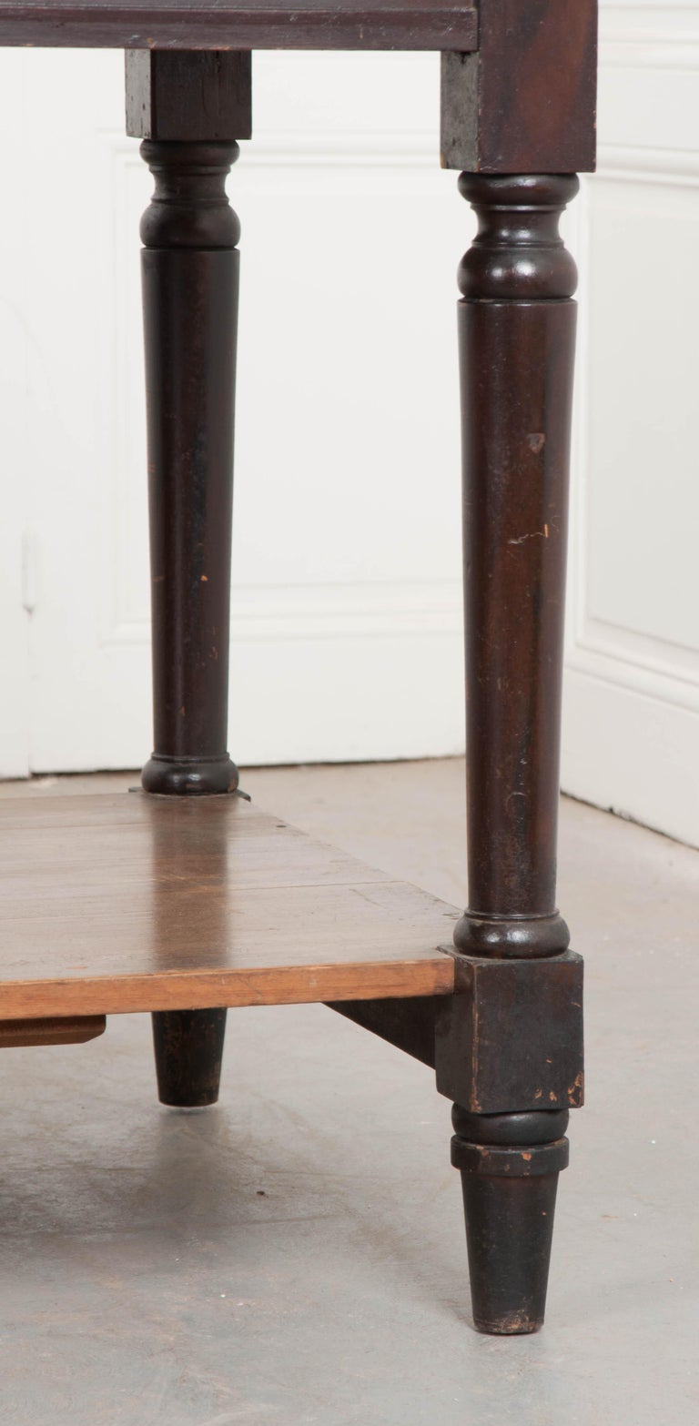 Painted Pair of Early 20th Century French Drapery Tables For Sale