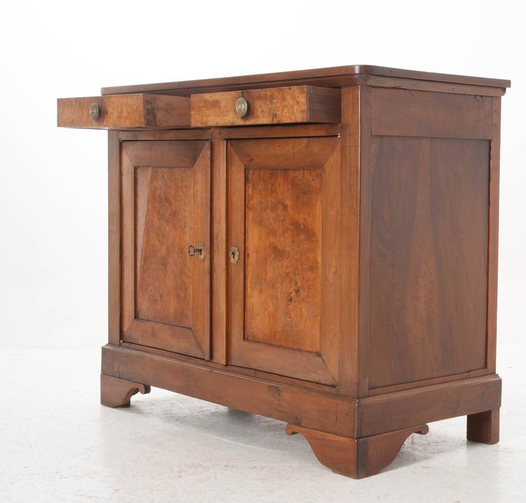Pair Of French 19th Century Walnut Louis Philippe Buffets For Sale At 1stdibs