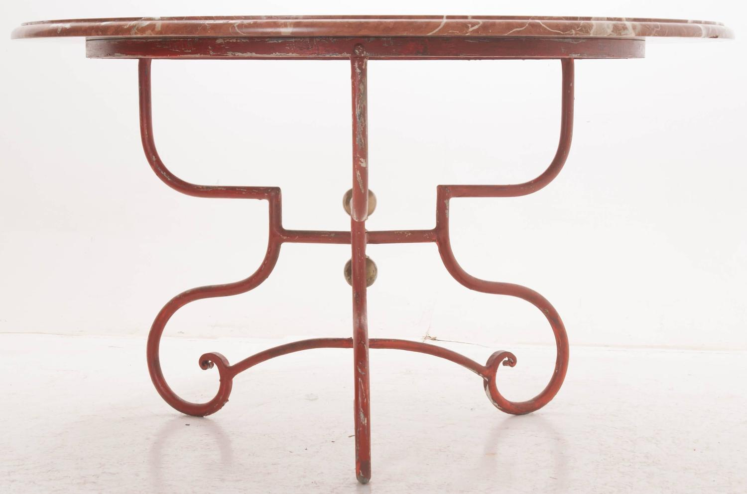 Italian 19th Century Garden Dining Table For Sale At 1stdibs