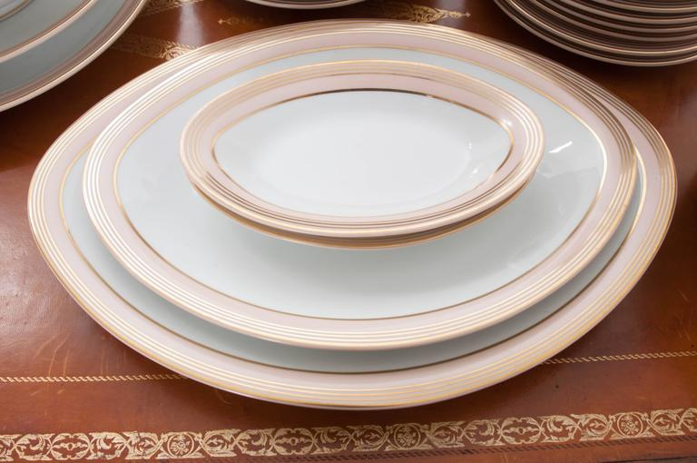 French Limoges 62 Piece Dinner Service For Sale 2