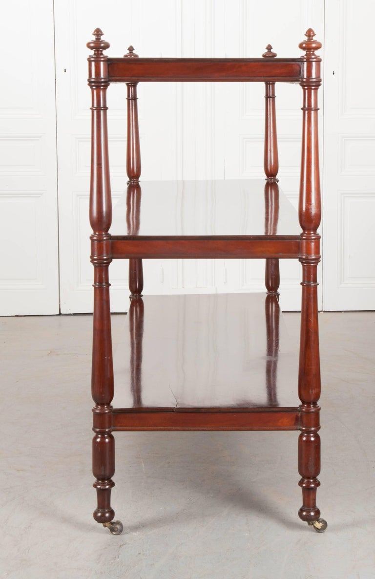 Massive 19th Century English Mahogany Trolley For Sale 6