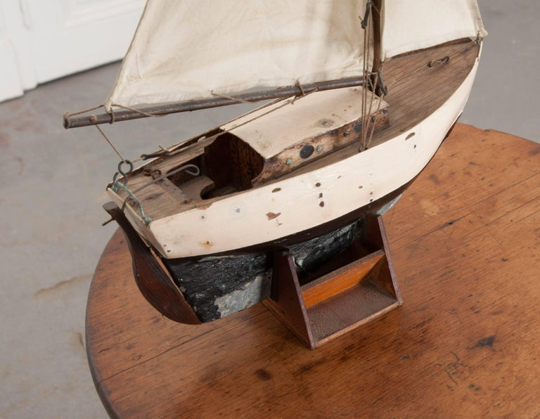 Early 20th Century English Pond Yacht For Sale 2