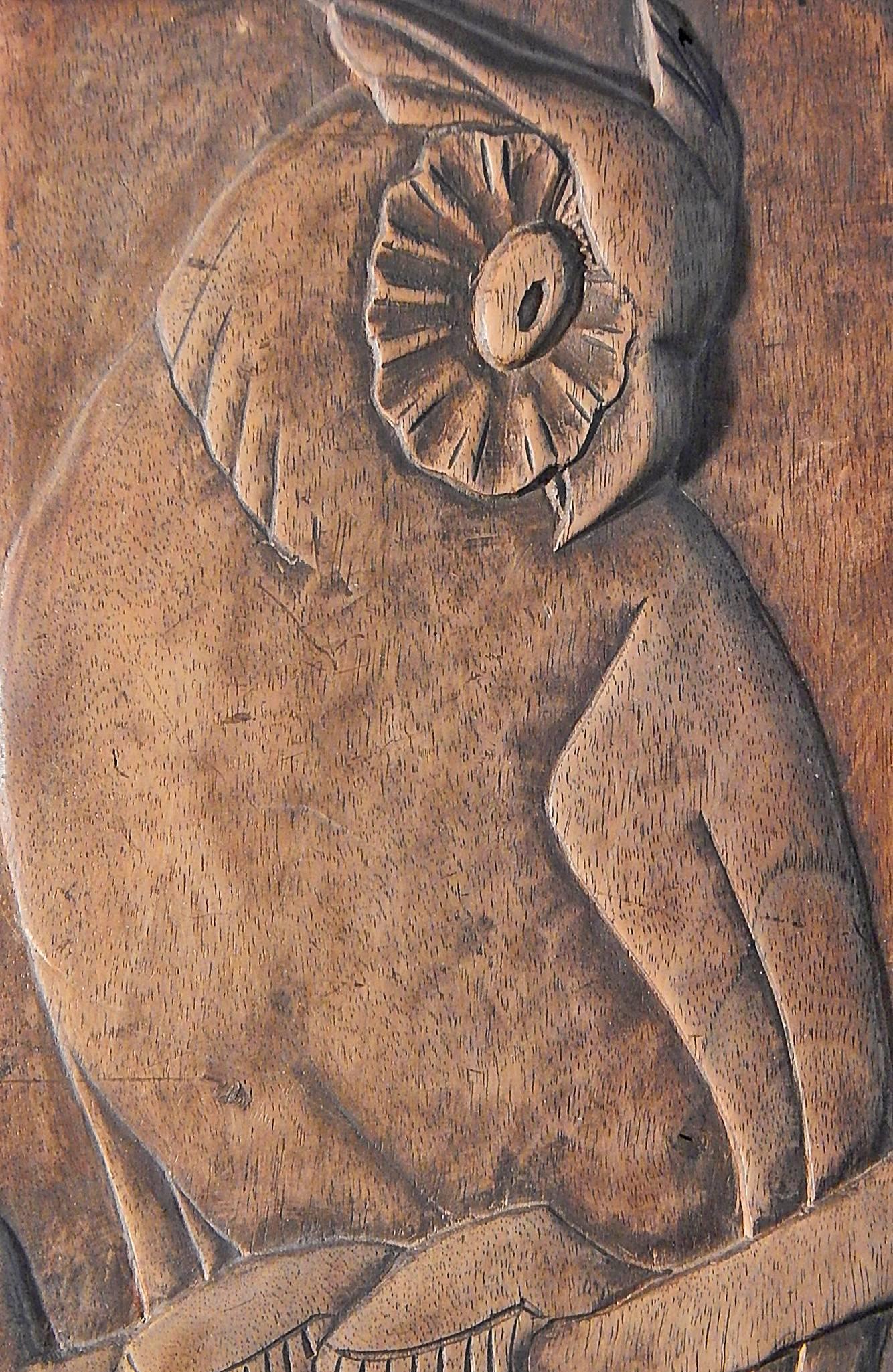 Owl wall sculpture dana simson design