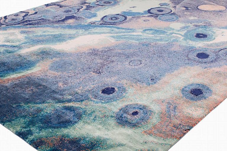 Psychedelic Purple Area Rug Ocean Jasper By Joseph