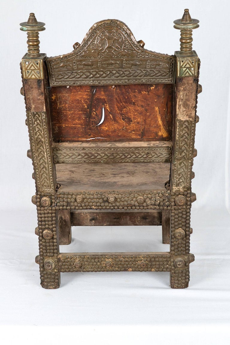 Vintage African Ashanti Kings Chair Throne For Sale At