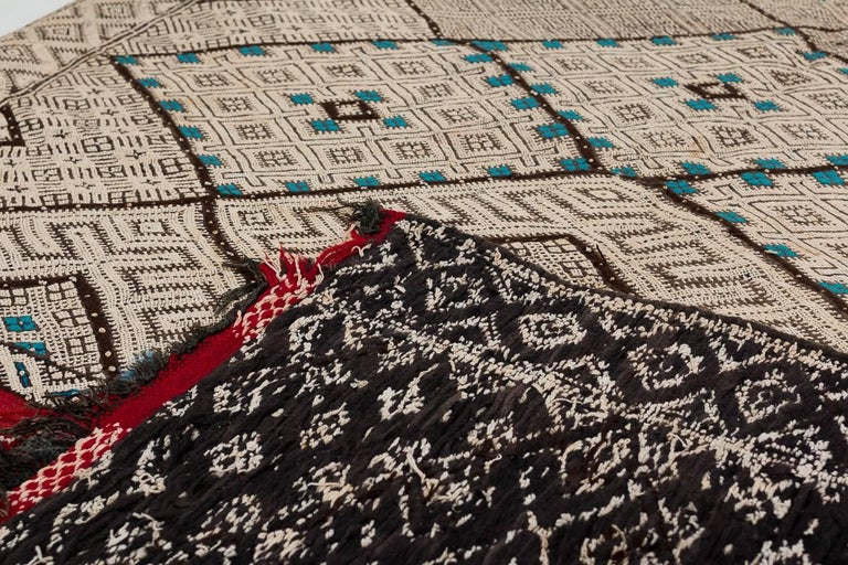 Exceptional Vintage Moroccan Kilim For Sale 1