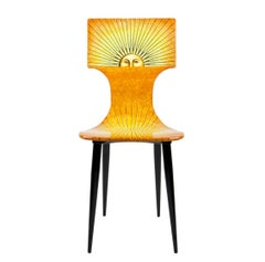 'Sole' (Sun) Chair by Fornasetti