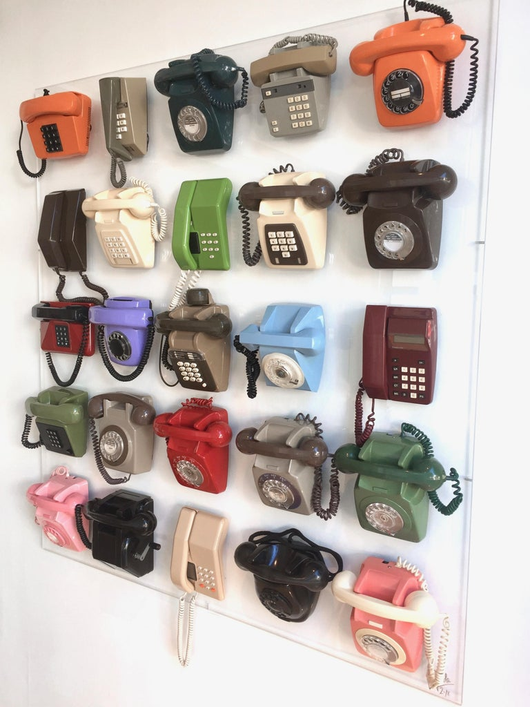 British 'Vintage Telephony' Sculpture by Laurence Poole, 2018 For Sale