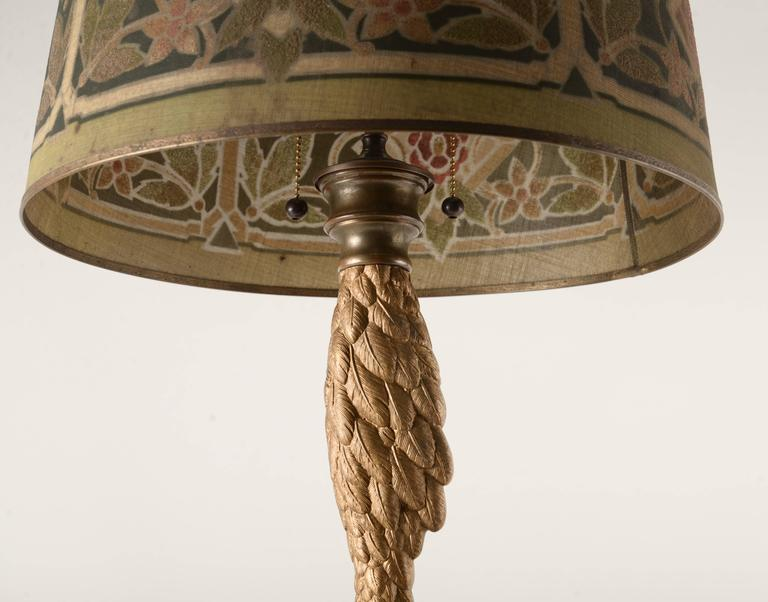 Cast Brass Victorian Ostrich Leg Table Lamp At 1stdibs