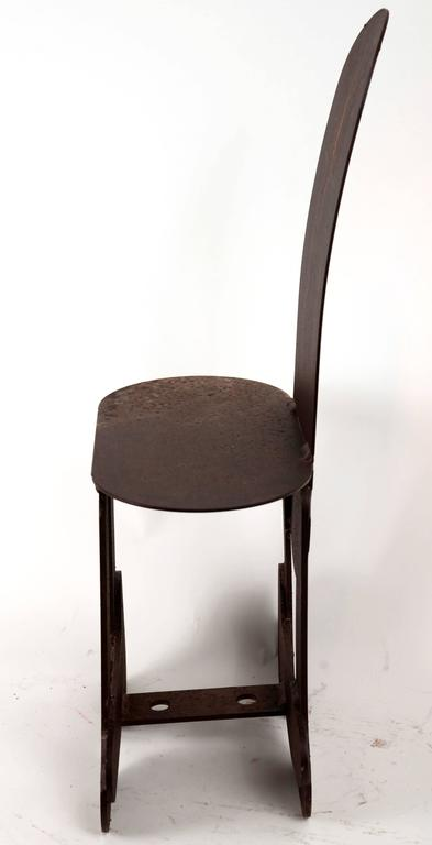 Welded Phallic Steel Chair For Sale