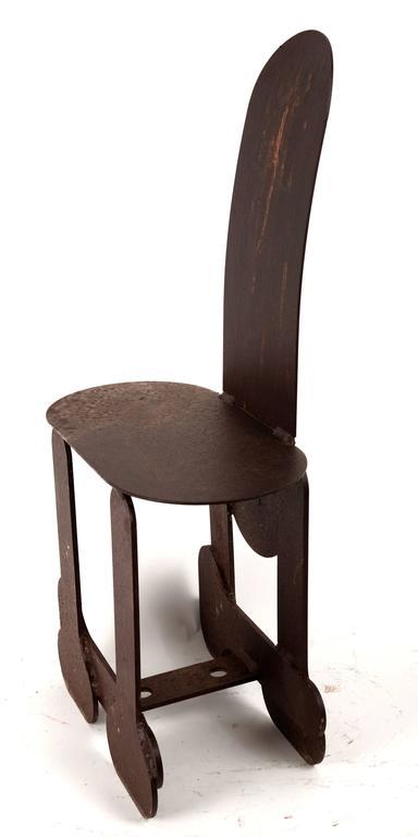 Phallic Steel Chair 5