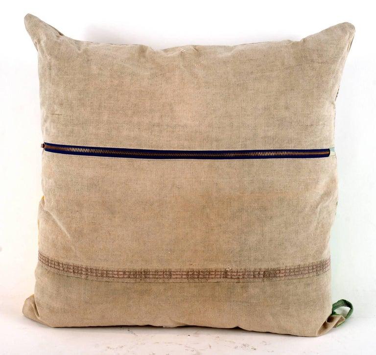Vintage Textile Pillow 2