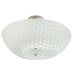 Shimmery Murano Ceiling Fixture or Pendant