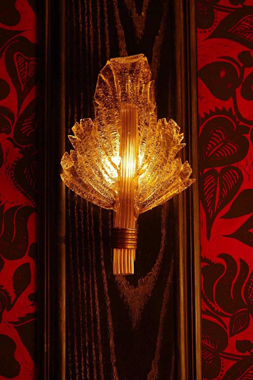 Vintage Gold Wall Lights : Wonderful Vintage Murano Gold Leaf Wall Lights at 1stdibs