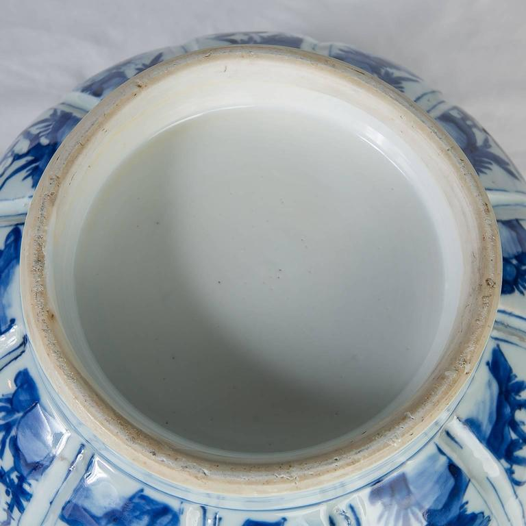 Chinese Blue and White Porcelain Bowl Antique  For Sale 4