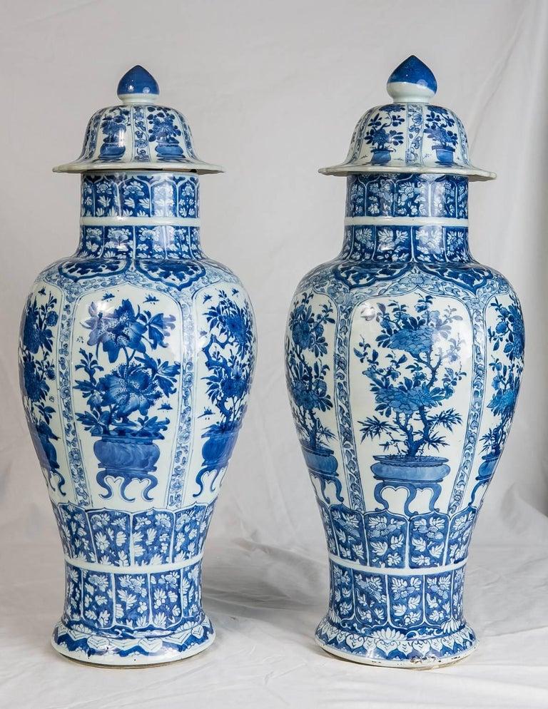blue and white porcelain ginger jars antique chinese at. Black Bedroom Furniture Sets. Home Design Ideas