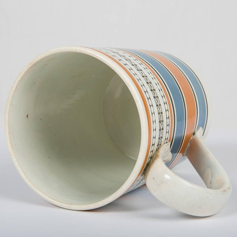 Teal and Orange Mug For Sale 3