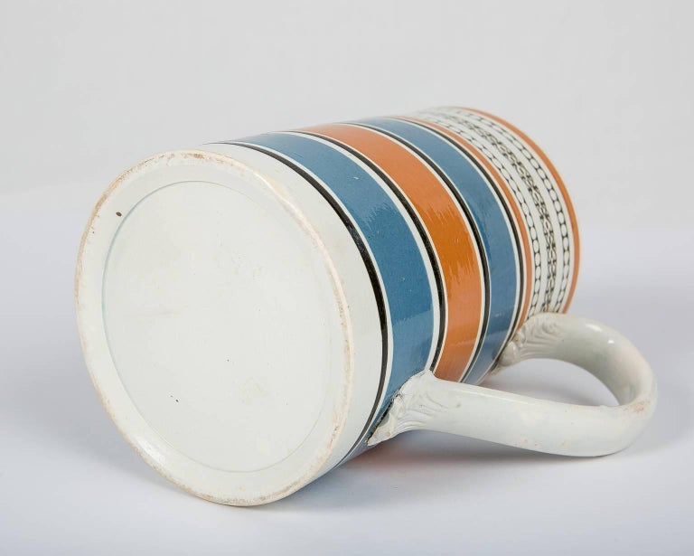 Teal and Orange Mug For Sale 2