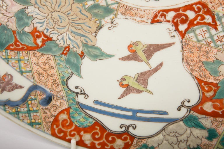 Large Antique Japanese Charger For Sale 1