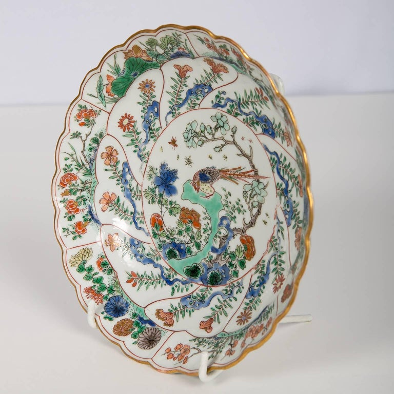 18th Century Chinese Qianlong Porcelain Dish For Sale 4