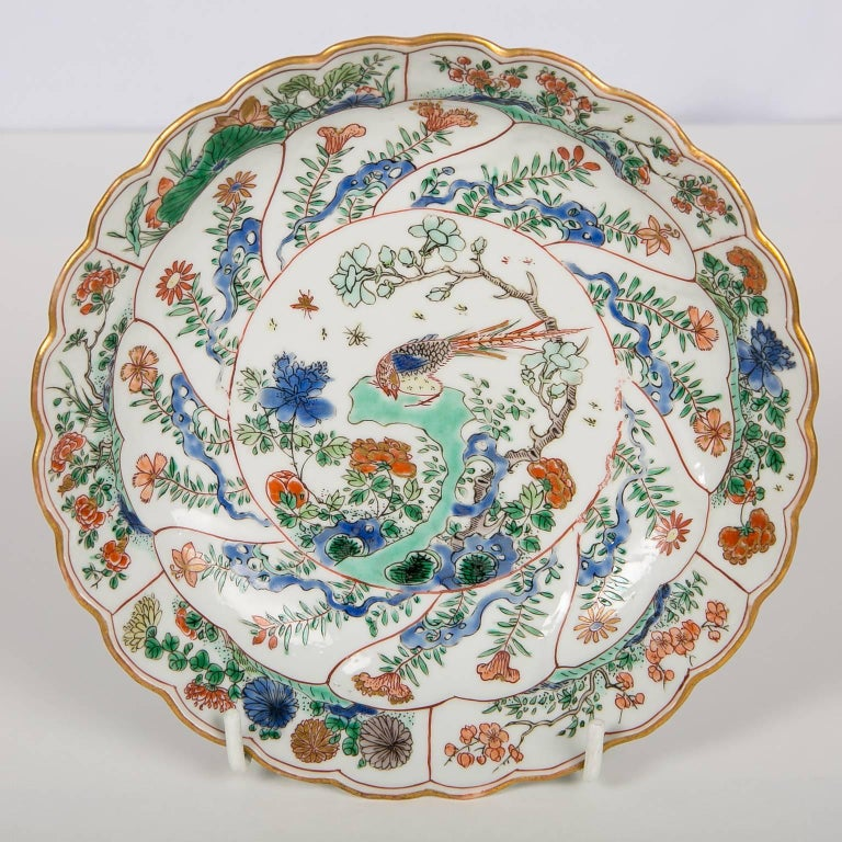 18th Century Chinese Qianlong Porcelain Dish For Sale 6