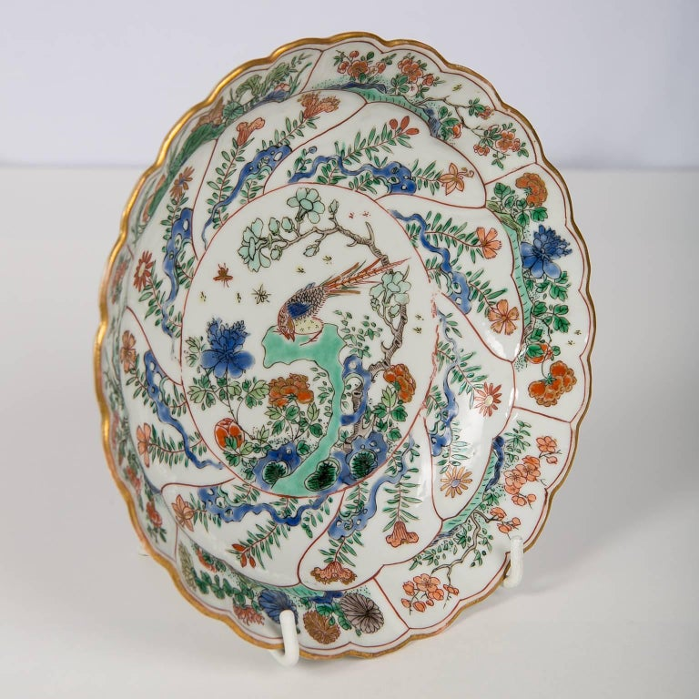 18th Century Chinese Qianlong Porcelain Dish For Sale 5