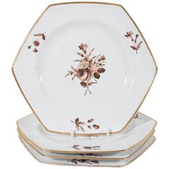 Spode Pink and Brown Toned Dishes - Custom Listing