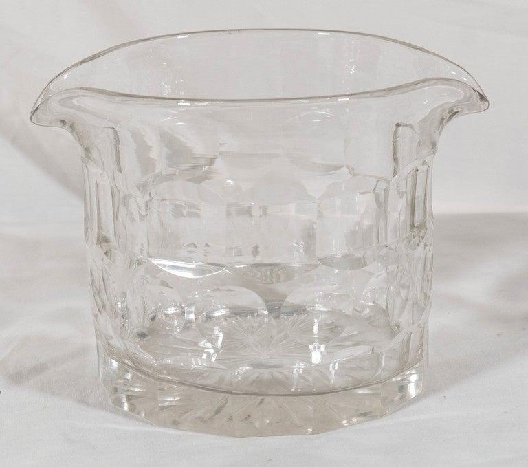 Cut Glass Rinsers