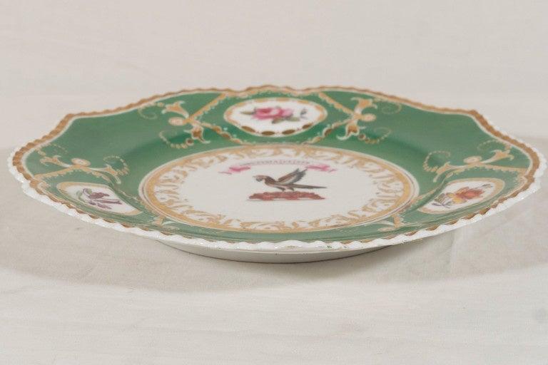 19th Century  Armorial Dish Motto