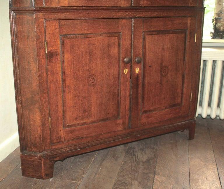 Scottish George III Period Corner Cupboard For Sale 1