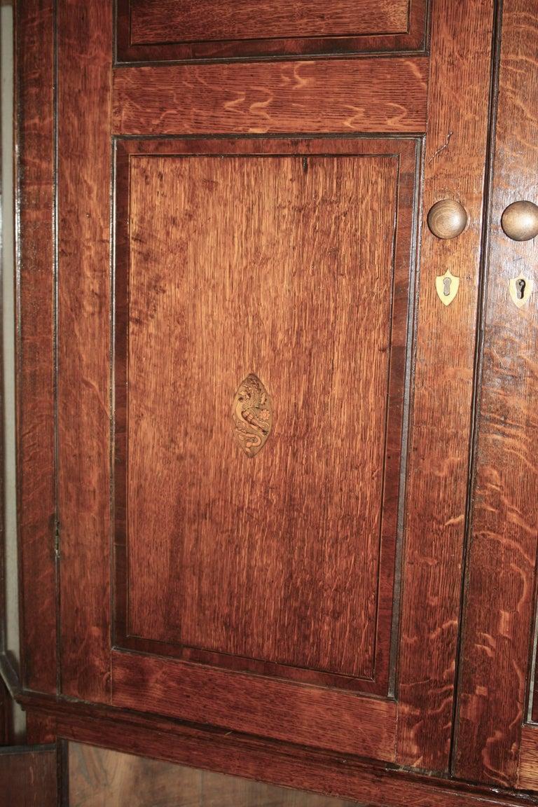 Scottish George III Period Corner Cupboard For Sale 2