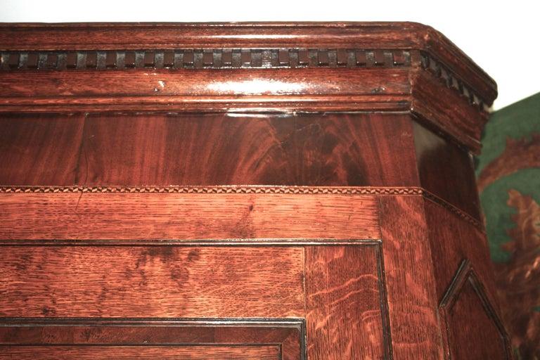 Scottish George III Period Corner Cupboard For Sale 6