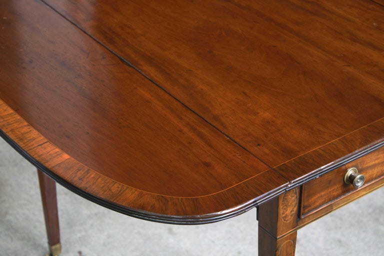 18th Century George III Pembroke Table For Sale
