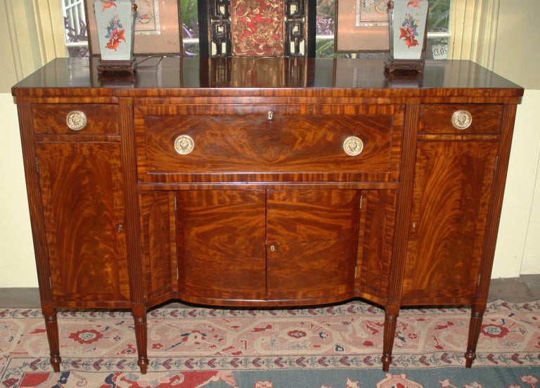 Baltimore Federal Sideboard with Butler's Secretary For Sale 7