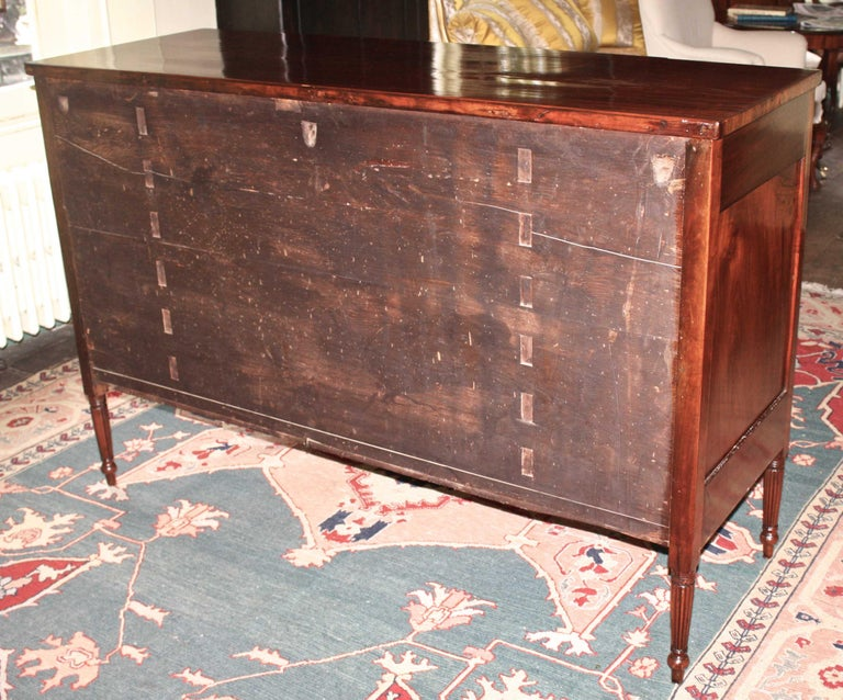 Baltimore Federal Sideboard with Butler's Secretary For Sale 6