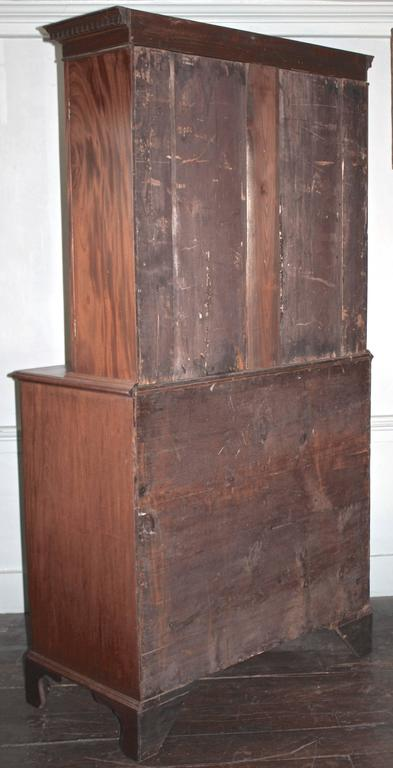 Maryland Hepplewhite Secretary Bookcase For Sale 2