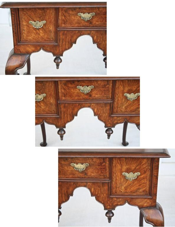 18th Century George II Walnut Lowboy For Sale