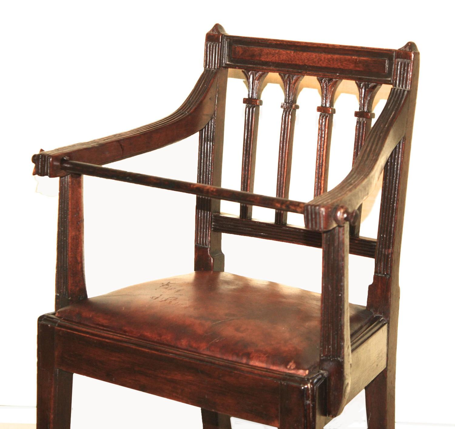 Child S Hepplewhite Dining Armchair For Sale At 1stdibs