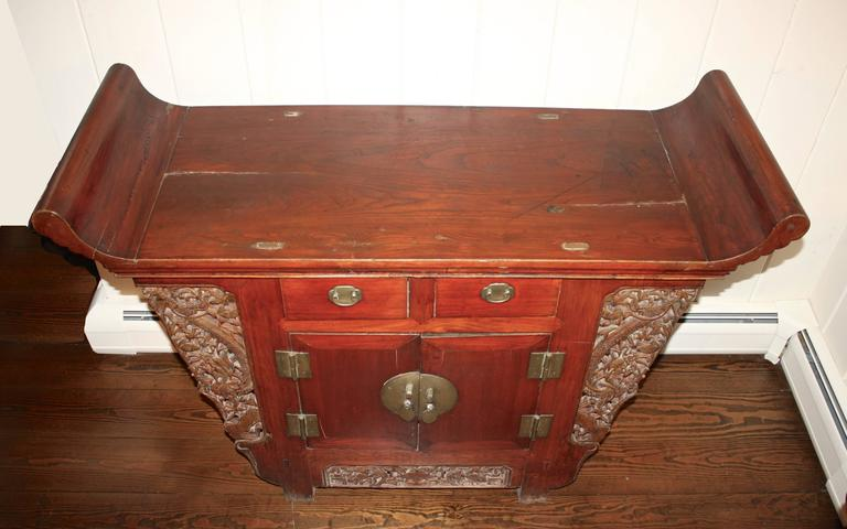 Forged Chinese Tongzhi Altar Cabinet For Sale