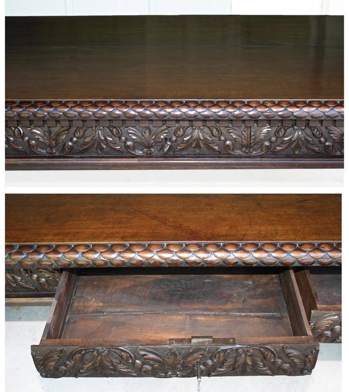 Italian Renaissance Trestle Table  For Sale 3