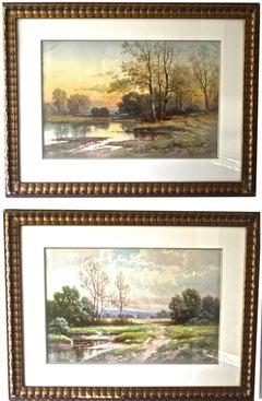 PAIR of Carl Weber Landscapes