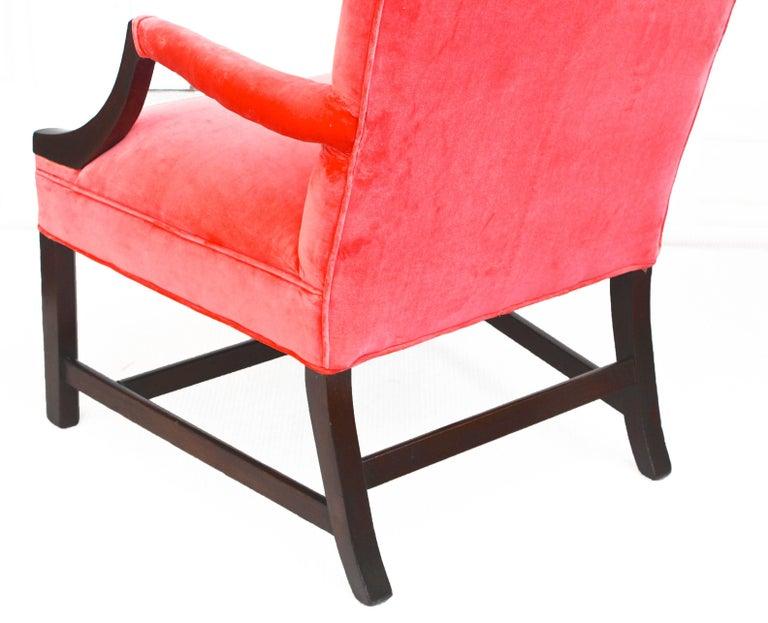 Georgian Gainsborough Armchair For Sale 1