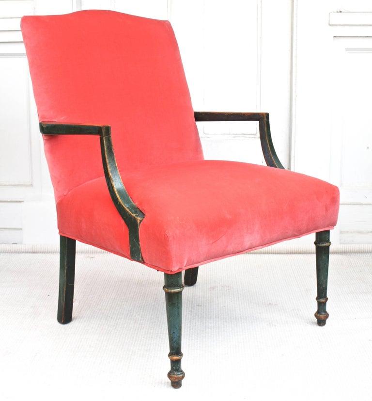 English Regency Gainsborough Armchair For Sale